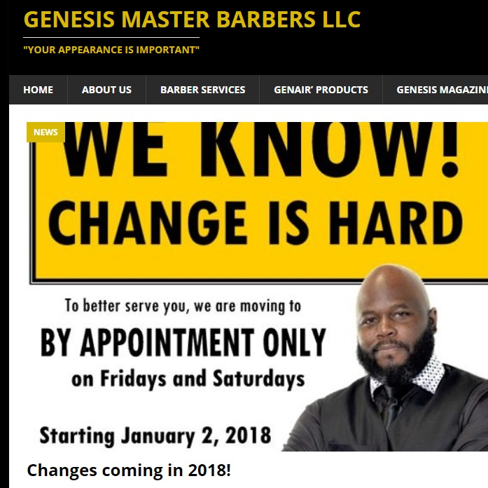 Genesis Master Barbers